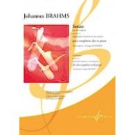 BRAHMS J. SONATE OP 120 N°2 SAXO ALTO