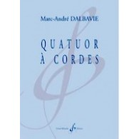 DALBAVIE M.A. QUATUOR A CORDES