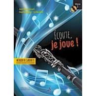 FESSARD J.M. ECOUTE JE JOUE! VOL 2 CLARINETTE