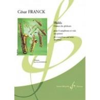 FRANCK C. HULDA,CHOEUR DES CHASSEURS SAXOPHONES