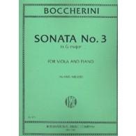 BOCCHERINI L. SONATA N°3 ALTO