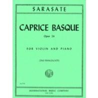 SARASATE P. CAPRICE BASQUE VIOLON
