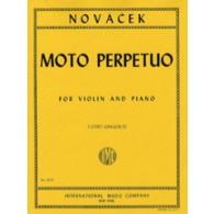 NOVACEK O. MOTO PERPETUO D MINOR VIOLON