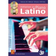 MINVIELLE-SEBASTIA P. INITIATION AU PIANO LATINO EN 3D