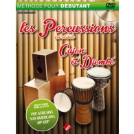 MIRANDON D. LES PERCUS EN VIDEO DJEMBE CAJON