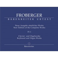 FROBERGER  J.J. NEW EDITION OF THE COMPLETE WORKS VOL V.4.1 PIANO /ORGUE