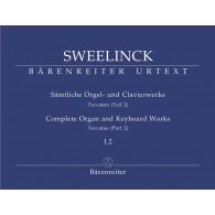 SWEELINCK J.P. COMPLETE ORGAN AND KEYBOARD WORKS VOL 1.2 ORGUE