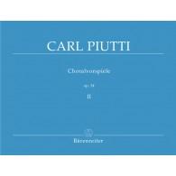 PIUTTI C. CHORALVORSPIELE OP 34 VOL 2 ORGUE