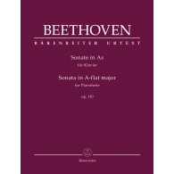 BEETHOVEN L.V. SONATE N°31 OP 110 PIANO