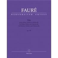 FAURE G. TRIO OP 120 PIANO, VIOLON ET VIOLONCELLE