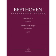 BEETHOVEN L. SONATE N°22 OP 54 PIANO