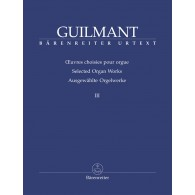 GUILMANT A. OEUVRES D'ORGUE VOL 3 ORGUE