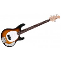 MUSIC MAN STINGRAY 4H EQ3 CLASSIC COLLECTION VINTAGE SUNBURST ROSEWOOD