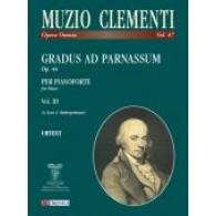 CLEMENTI M. GRADUS AD PARNASSUM VOL 3 PIANO