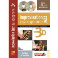 MAUGAIN M. IMPROVISATION JAZZ AU SAXOPHONE EN 3D