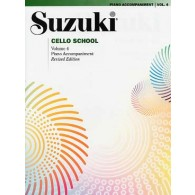 SUZUKI CELLO SCHOOL VOL 4 ACCOMPAGNEMENT PIANO