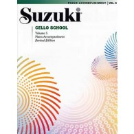 SUZUKI CELLO SCHOOL VOL 5 ACCOMPAGNEMENT PIANO