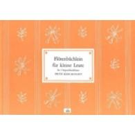 KOSCHINSKY F. FLOTENBUCHLEIN FUR KLEINE LEUTE 2 FLUTE A BEC
