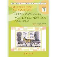 MES PREMIERS MORCEAUX PIANO VOL 1
