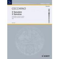 CECCHINO T. SONATES FLUTE A BEC