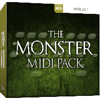TOONTRACK TT127 DIVERS THE MONSTER MIDI PACK 1