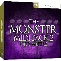 TOONTRACK TT128 DIVERS THE MONSTER MIDI PACK 2