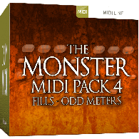TOONTRACK TT131 DIVERS THE MONSTER MIDI PACK 4