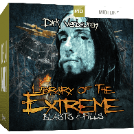TOONTRACK TT132 METAL LIBRARY OF THE EXTREME 1 MIDI