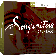 TOONTRACK TT135 DIVERS SONGWRITERS DRUM PACK 1 MIDI