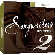 TOONTRACK TT143 DIVERS SONGWRITERS DRUM PACK 2 MIDI