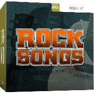 TOONTRACK TT153 ROCK SONGS MIDI