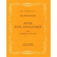 DEPELSENAIRE J.M. PETITE SUITE ZOOLOGIQUE CLARINETTE