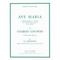 GOUNOD C. AVE MARIA ORGUE