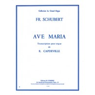 SCHUBERT F. AVE MARIA ORGUE