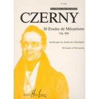 CZERNY K. ETUDES DE MECANISME OP 849 PIANO