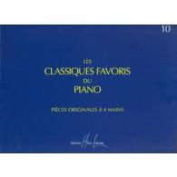 CLASSIQUES FAVORIS DU PIANO VOL 10 4 MAINS