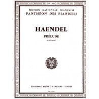 HAENDEL G.F. PRELUDE EN SOL MAJEUR PIANO