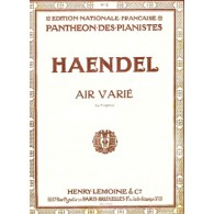 HAENDEL G.F. AIR VARIE EN MIB MAJEUR PIANO