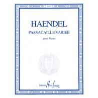 HAENDEL G.F. PASSACAILLE VARIEE PIANO