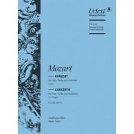 MOZART W.A. CONCERTO KV 299 PARTITION DE POCHE