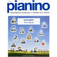 SCHUBERT F. AVE MARIA PIANO