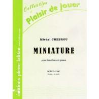 CHEBROU M. MINIATURE HAUTBOIS