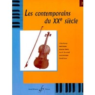 LE VIOLON CONTEMPORAIN DU XXME SIECLE VOL 2A
