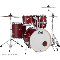 "PEARL EXL725PC-246 EXPORT LACQUER STANDARD 22"" 5 FUTS NATURAL CHERRY"