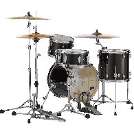 PEARL MDT764PC-701 BLACK GOLD SPARKLE