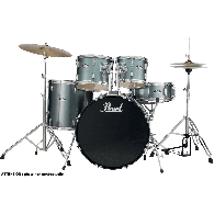 "PEARL ROADSHOW RS505CC-706 FUSION 20"" 5 FUTS CHARCOAL METALLIC"