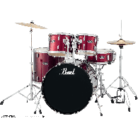 PEARL ROADSHOW ROCK 22 5FUTS RED WIN