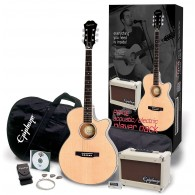 PACK GUITARE EPIPHONE PR-4E PLAYER NATUREL