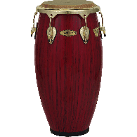 "PEARL PCF117HV-651 HAVANAS CONGA 11"" 3/4 BIG BELLY RED TIGER STRIPE"