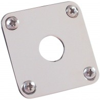 PLAQUE GIBSON JACK PLATE PRJP-040 PLASTIQUE NICKEL